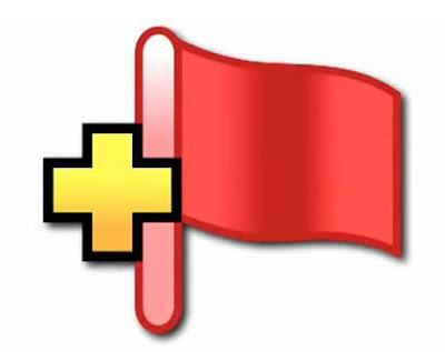 la proxima guerra lieberman boton bandera roja contenido terrorista blogger