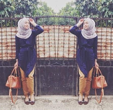 Hijab Fashion Casual Tahun 2014