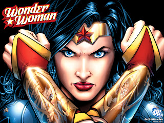 DC Wonder Women Comics HD Desktop Wallpaper