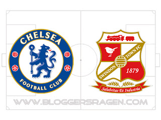 Pertandingan Swindon vs Chelsea
