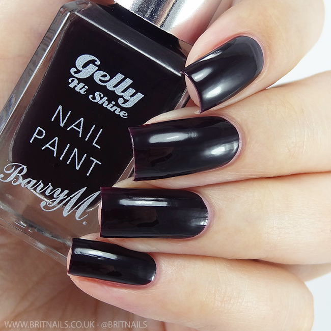 Barry M Black Currant