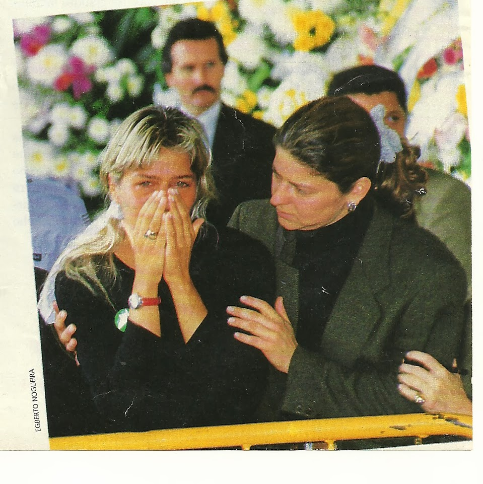 Adriane galisteu senna funeral
