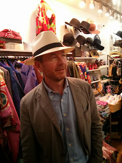Ready for Summer travels in a Panama Hat from The Hat House in NYC
