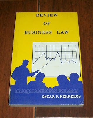 Review of Business Law book by Oscar Ferreros
