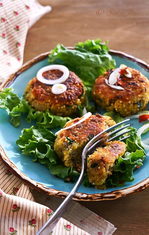 #LentilPatties #QuinoaPatties #PotatoPatties #HealthyPatties #QuickSnack #HealthyPatties