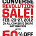 Converse Revolution Sale
