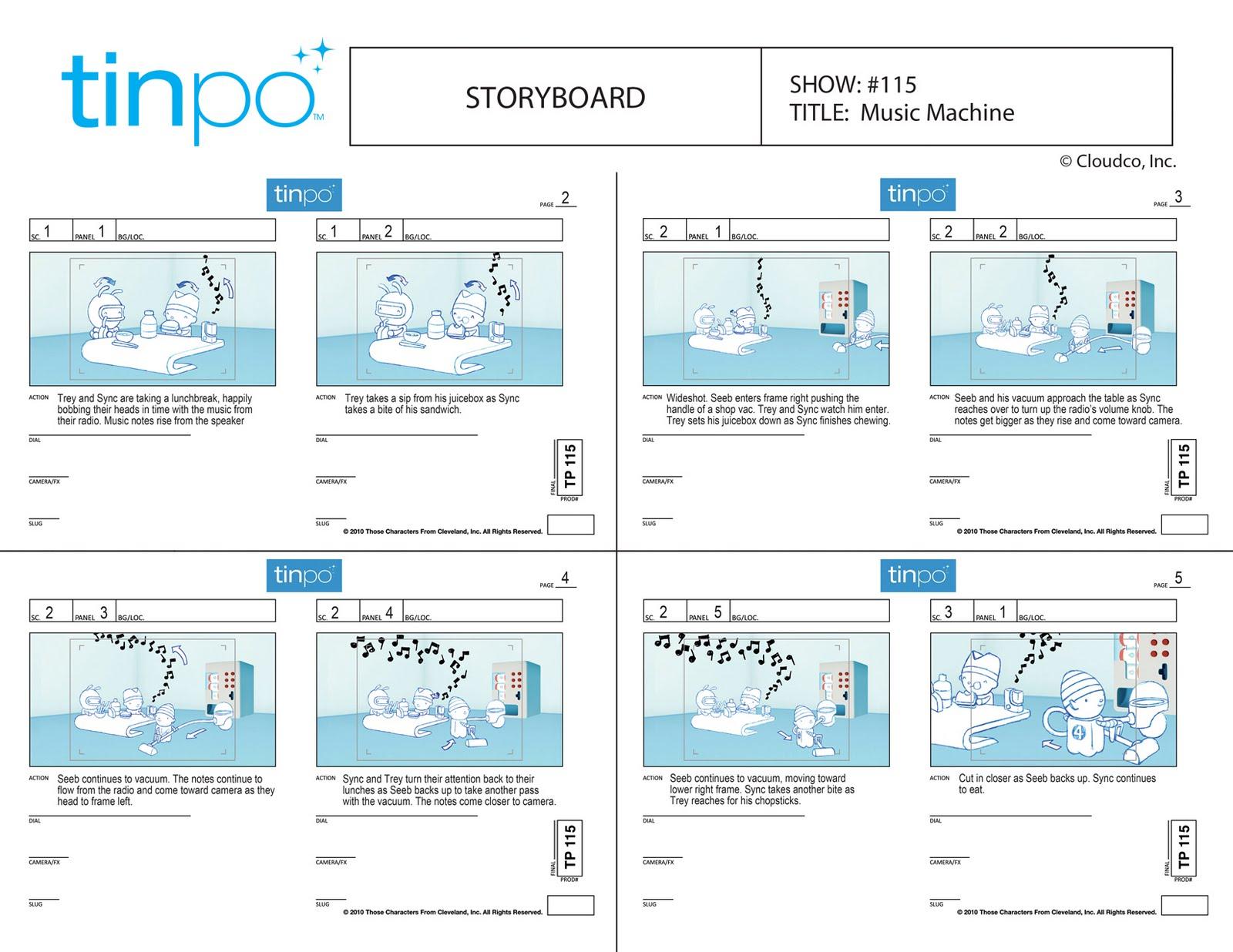 SteinTime!: Tinpo Storyboard