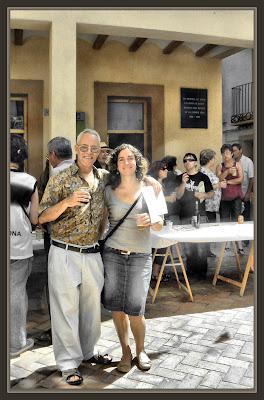 OLIETE-AYUNTAMIENTO-PINTURA-TERUEL-REGIDORA-CULTURA-PREMIOS-PINTOR-FOTOS-ERNEST DESCALS-