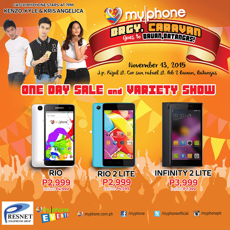 MyPhone Infinity 2 Lite Goes On A 1 Day Sale, Price Drops To 3999 Pesos!