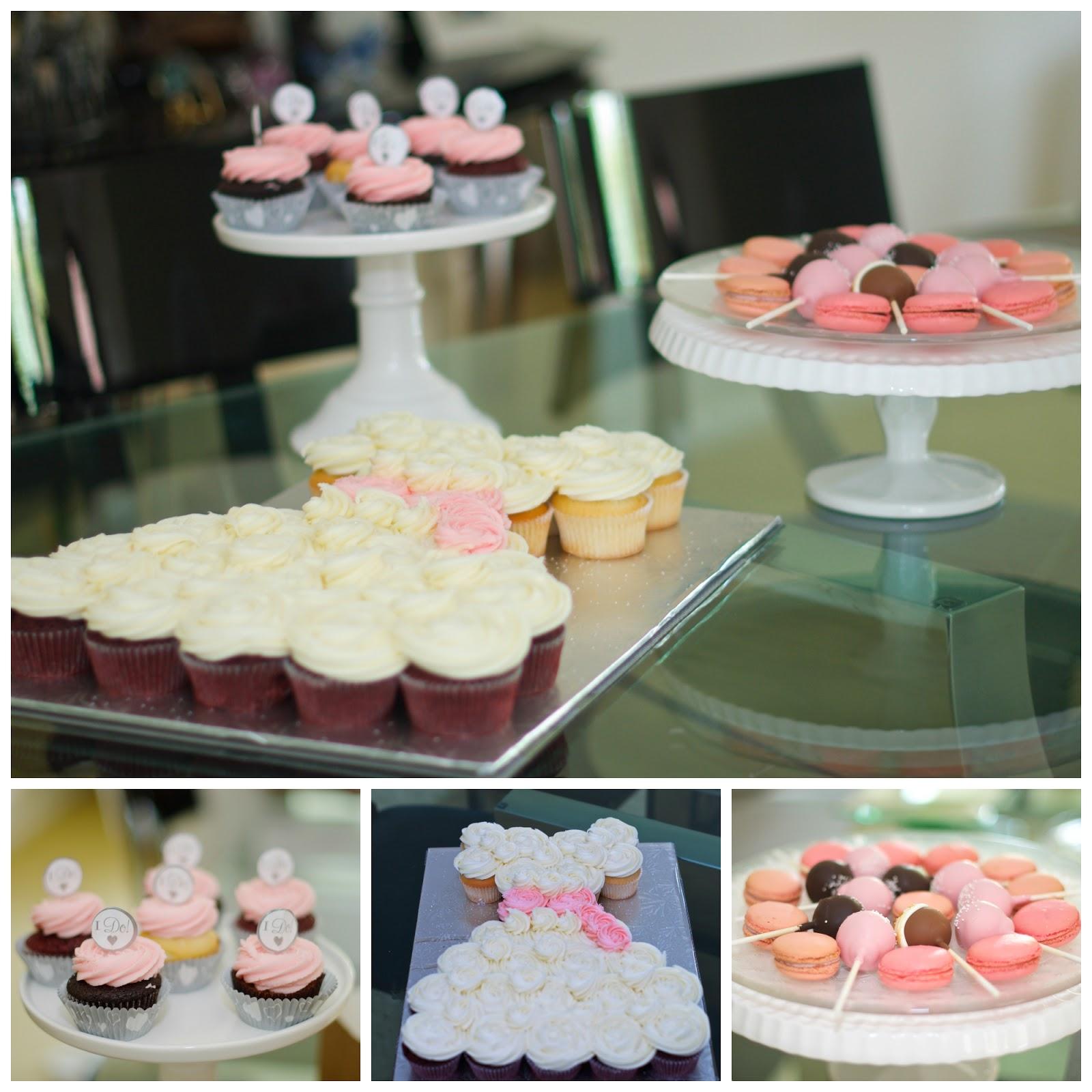 Wedding Dress Cupcake Cake 36 Great Then arrange the treats