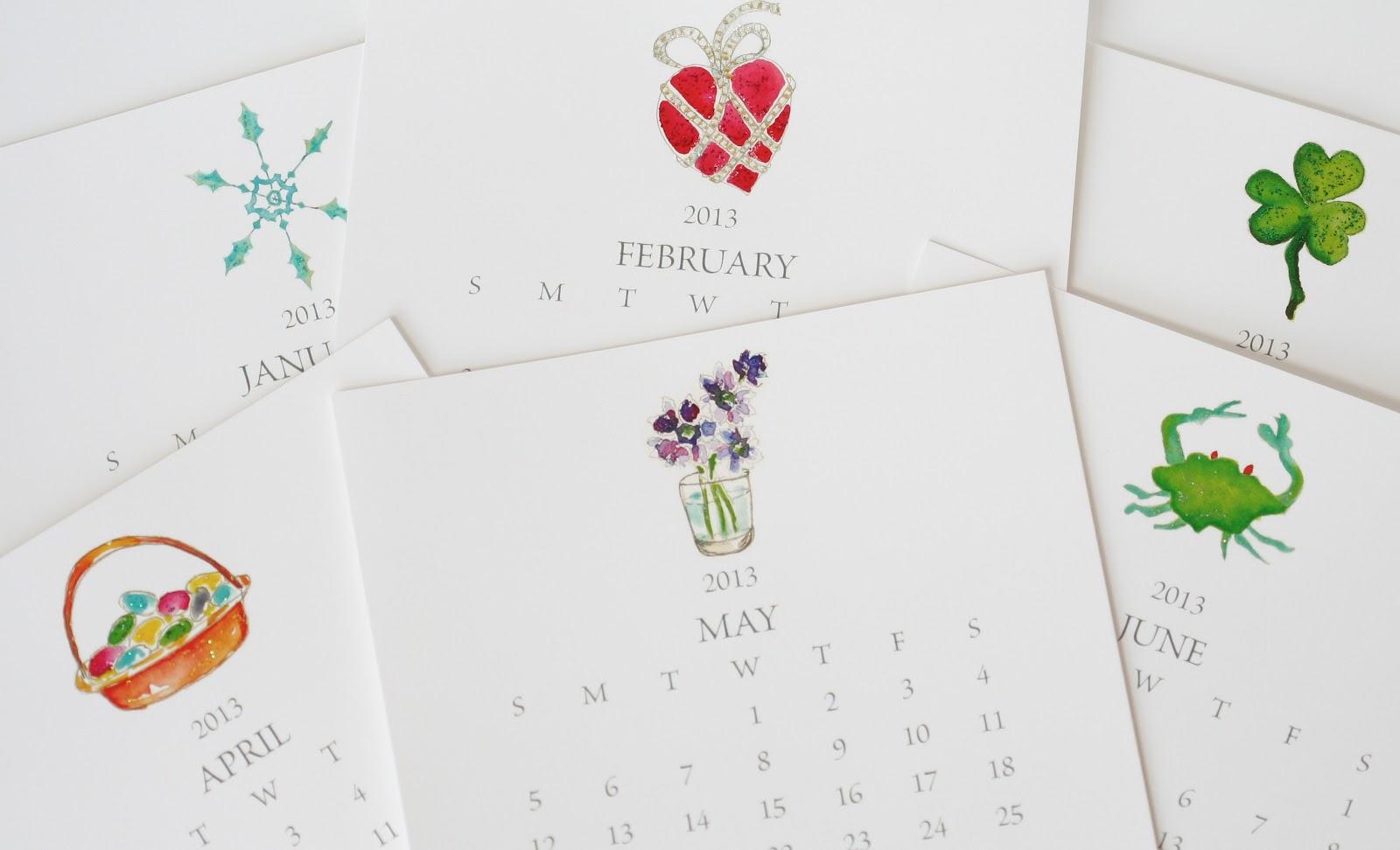 hampton paper designs 2013 make your own desk calendar