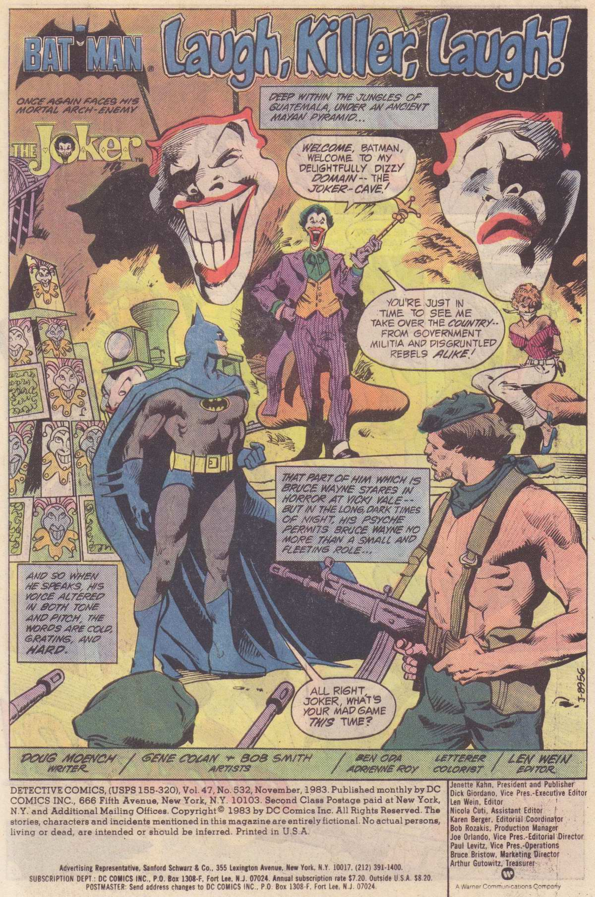 Detective Comics (1937) Issue #532 Page 2