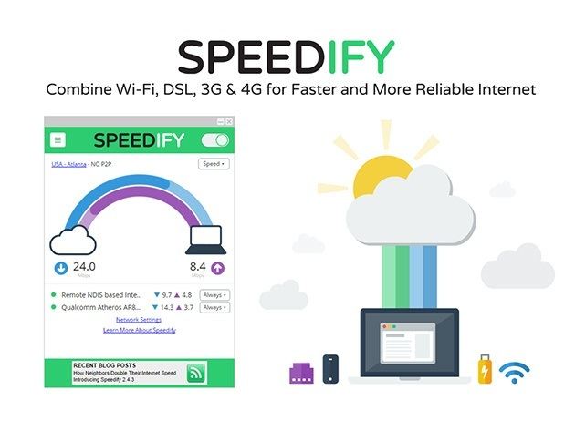 Speed up everything you do online [Speedify Internet Accelerator]