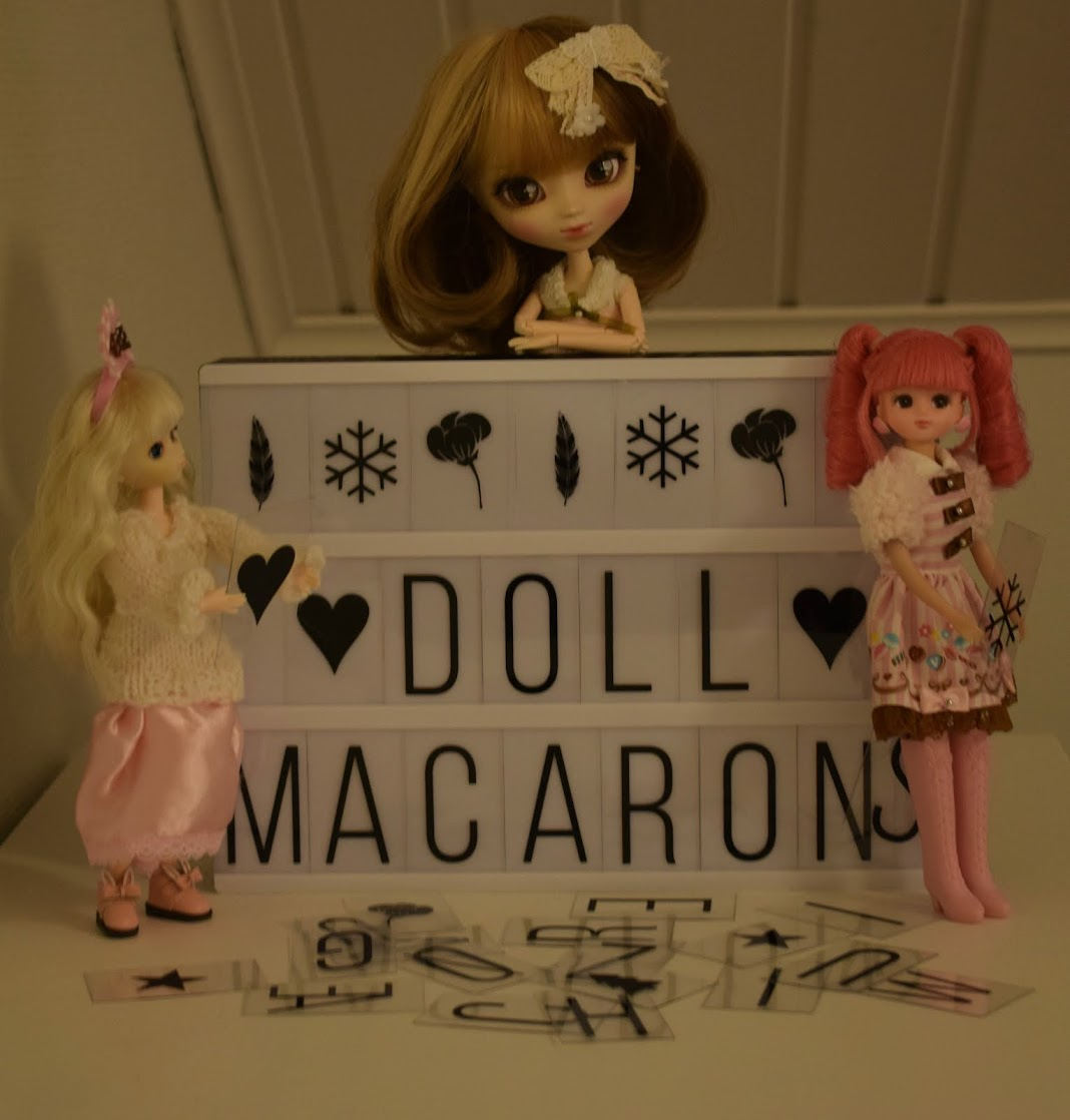 Doll Macarons