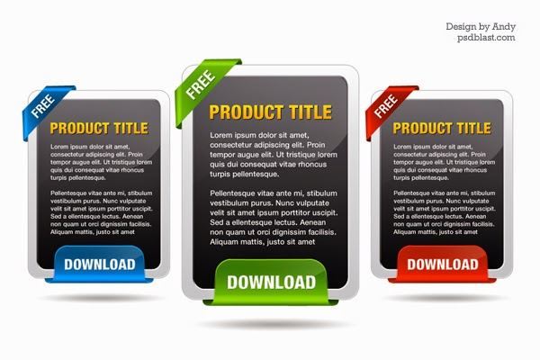 PSD High Rize Download Box