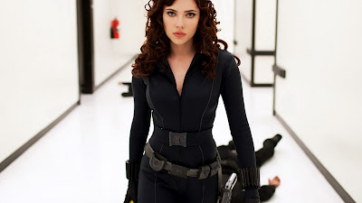 Black Widow Scarlett Johansson Avengers Movie Desktop Wallpaper