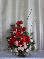 beli bunga meja garbera tangerang