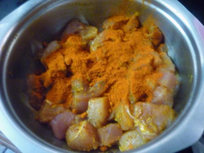 how to make curry pakora