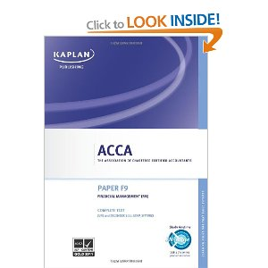 Latest ACCA KAPLAN Study Material 2018 – 2019