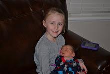 Tailey holding Bennett