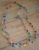 Beaded necklaces from 147 Million Orphans