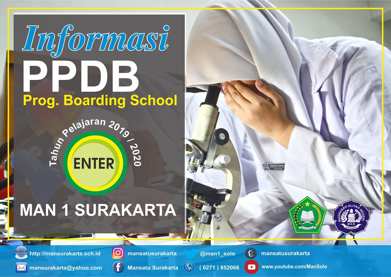 INFO PPDB PROG. BOARDING SCHOOL