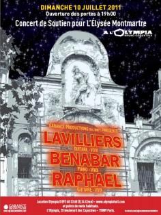 Concert de soutien - Élysée-Montmartre