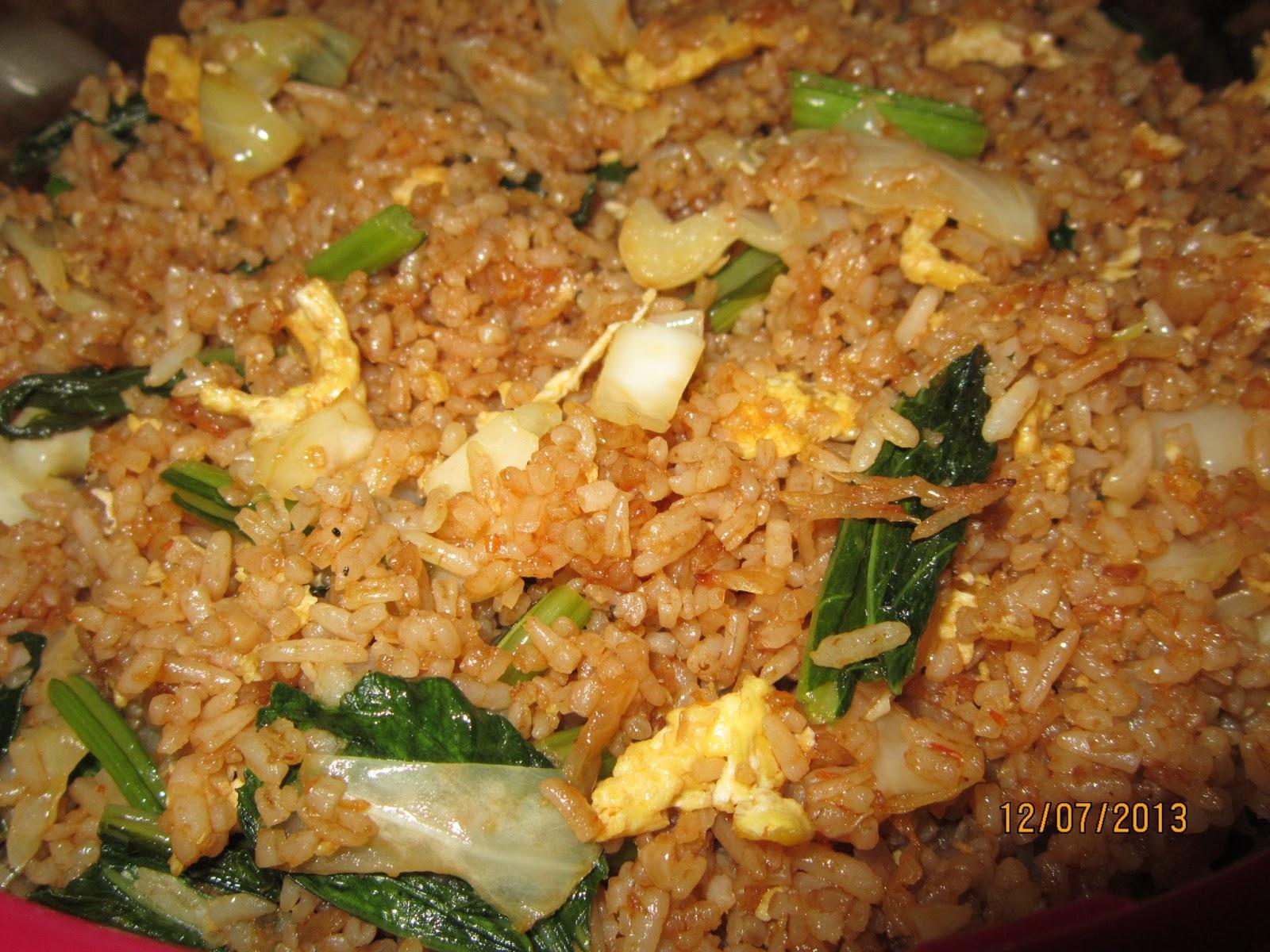 Resepi Nasi Goreng Minyak Bijan