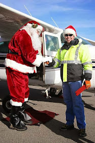 Catch Santa's Fly-In at Truckee Tahoe Airport, California