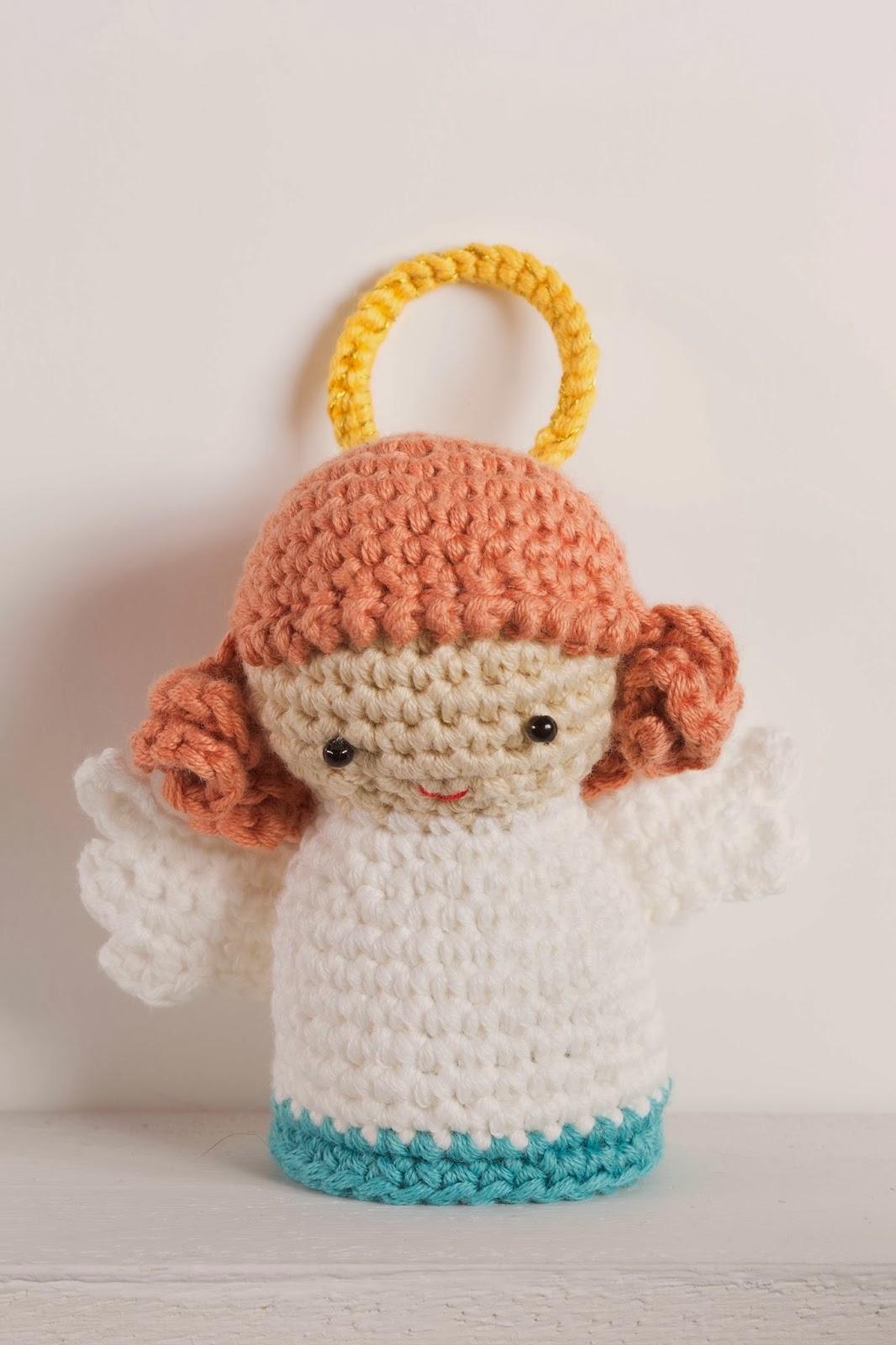 O blog da dmc novo kit amigurumi de natal pres pio - Angeles de navidad manualidades ...
