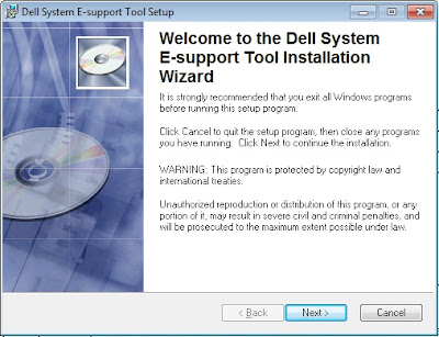 how to run dell dset report on windows