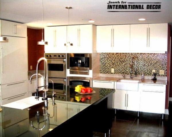 Beautiful Kitchen In High Tech Style