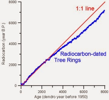 Radiocarbon dating calibration programs