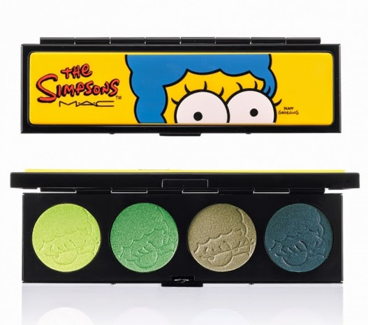 collezione make up di mac ispirata a marge simpson