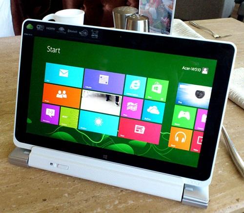 tablet windows 8, fitur acer a510, tablet kamera 8MP terbaru, kelebihan windows 8, tablet pc windows 8 acer