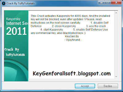 Kaspersky 2011 Anti Blacklist Crack.v3.0 Update.