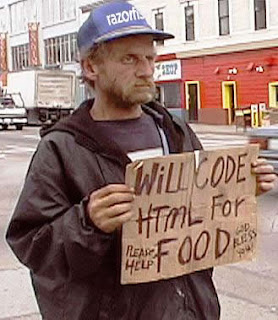 funny homeless sign code