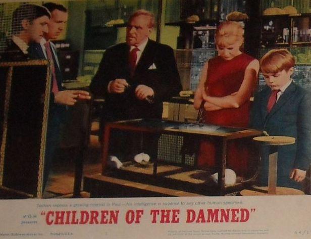 Todo El Terror Del Mundo: Los Hijos De Los Malditos ... Children Of The Damned 1964