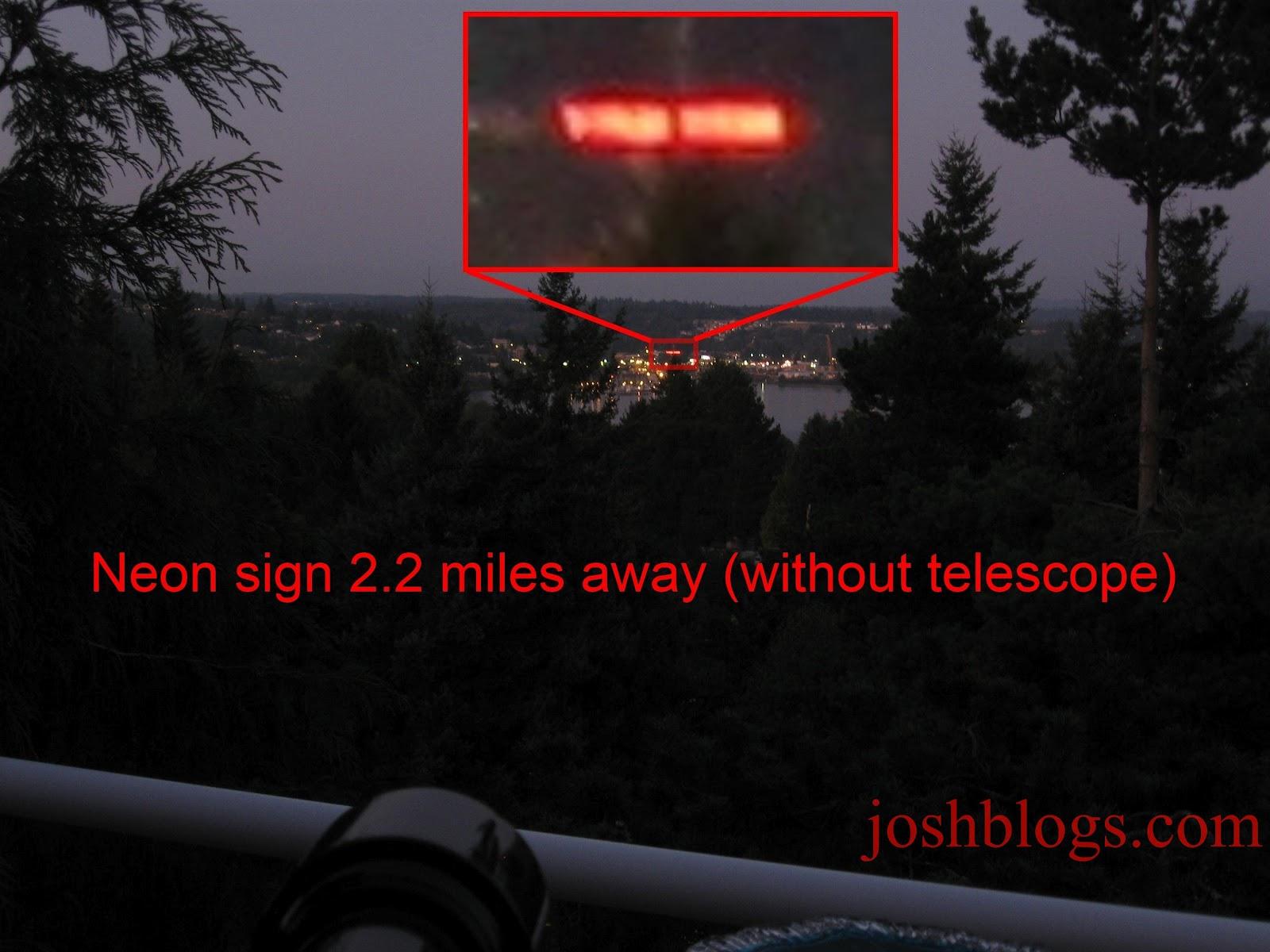Josh s celestron mm powerseeker telescope review