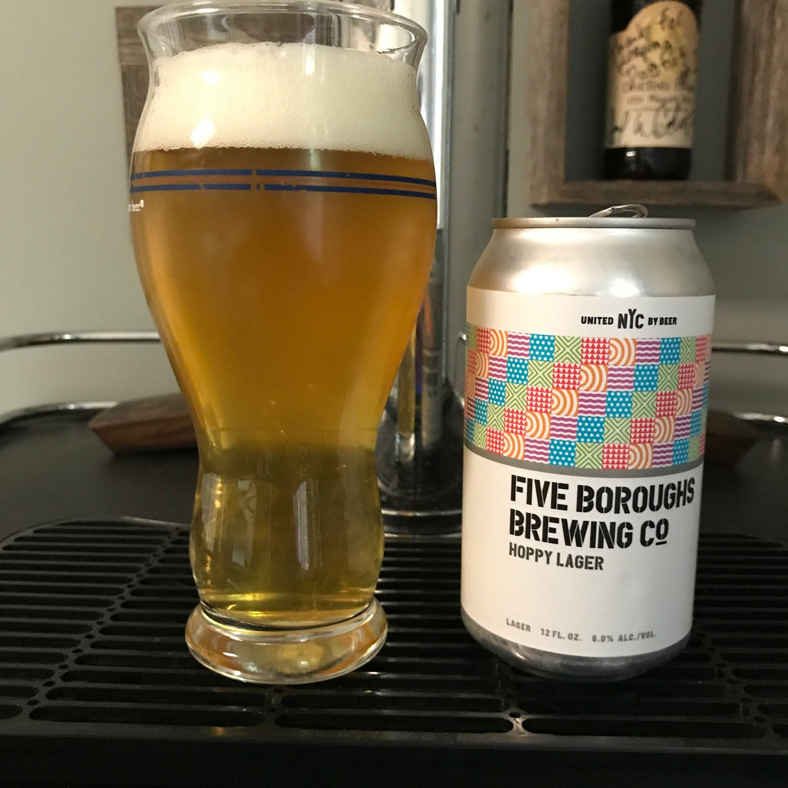 Five Boroughs Hoppy Lager