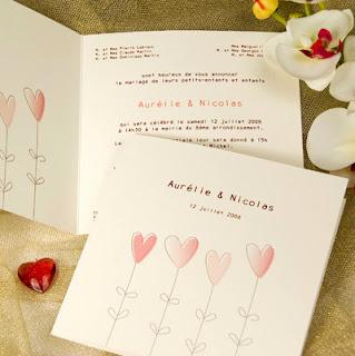 Echantillon faire part mariage gratuit