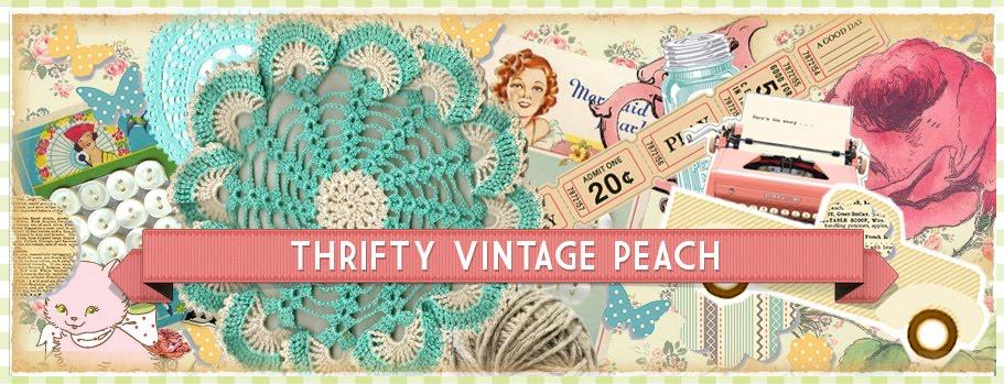 Thrifty Vintage Peach