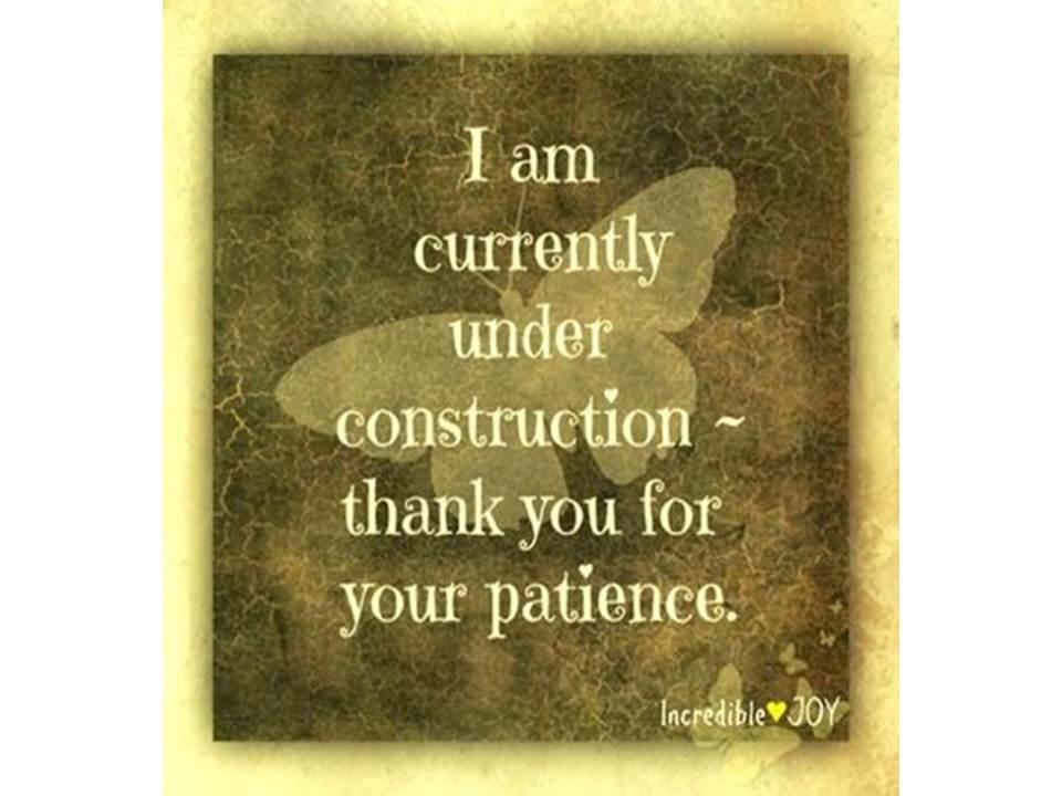 """estoy normalmente en """"construcción""""..."""