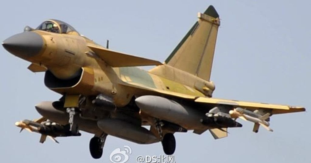 Image of The Day: Chinese J-10B Fighter Jet Armed with ...
