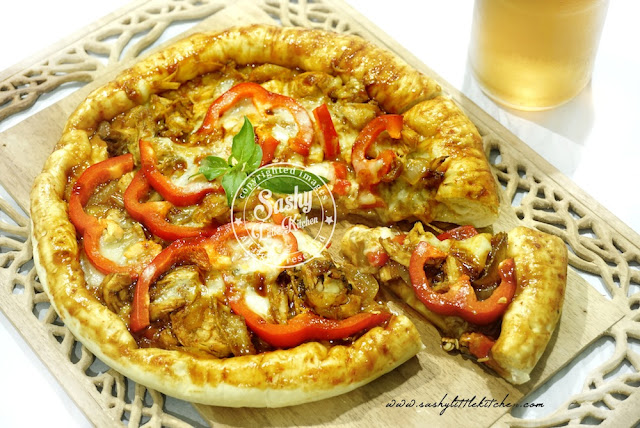Chicken Teriyaki Pizza