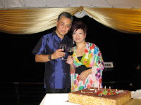 Birthday mum, Jane Ng and husband