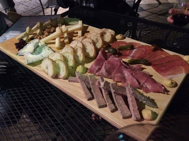 Charcuterie platter at Accent on Wine in Park Circle
