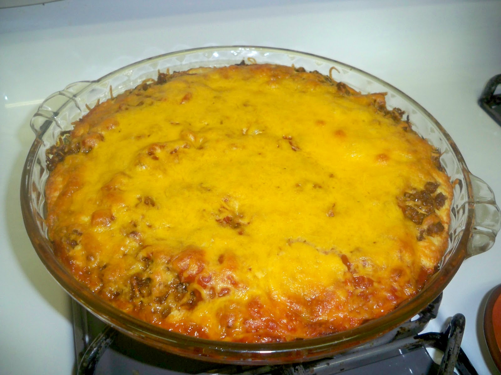 Gramma's in the kitchen: Taco Pie
