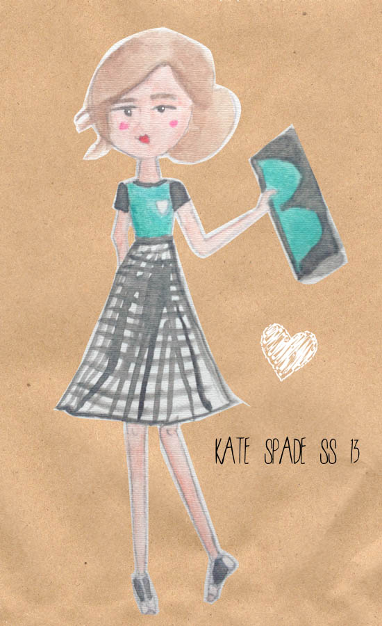 What I wore today: Kate Spade