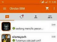BBM Orange Inovation V2 base 2.9.0.44 APK